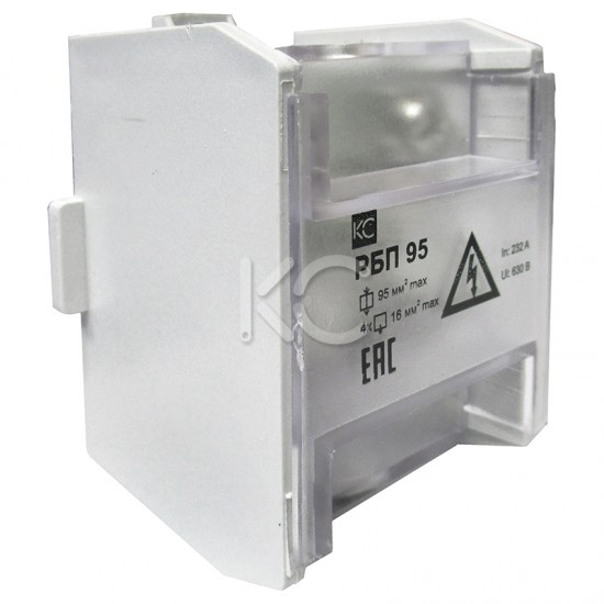 Блок распределительный РБП 95 (1х95-4х16 мм2) 232/100А КС