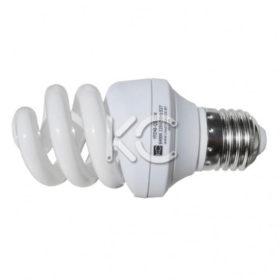 Лампа энергосберегающая 24 Вт E27 YPZ48-QS 220В 6400К КС