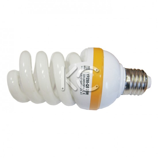Лампа энергосберегающая 45 Вт E27 YPZ60-QS 220В 4000К КС