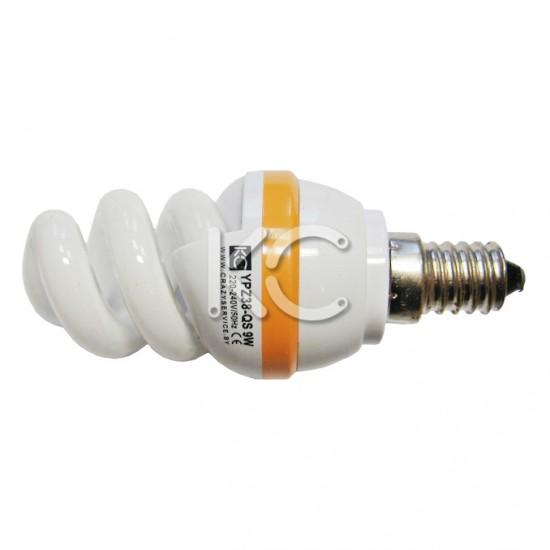 Лампа энергосберегающая  9 Вт E14 YPZ38-QS 220В 4200К КС