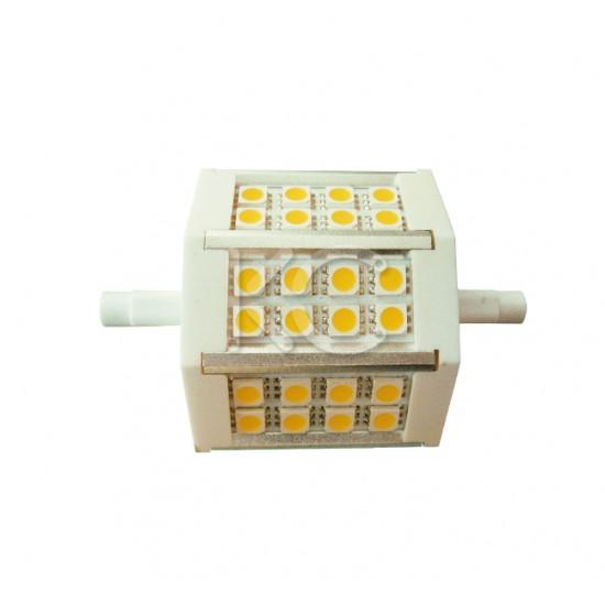 Лампа светодиодная CET067-J78-5Вт-24LED-4000К-432Lm-R7S-КС