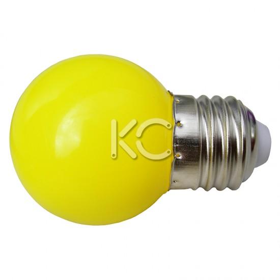 Лампа светодиодная G45-0,3W/E-E27-КС