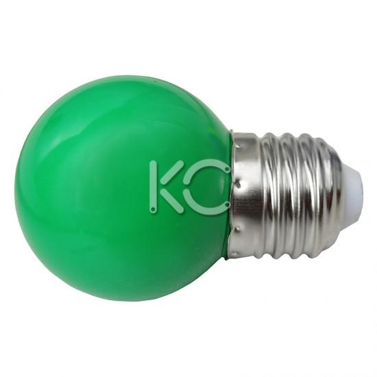 Лампа светодиодная G45-0,3W/G-E27-КС