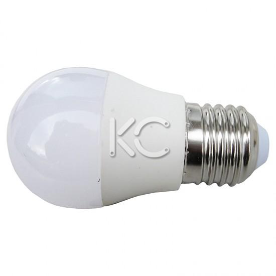 Лампа светодиодная G45-5W-4000K-E27-KC