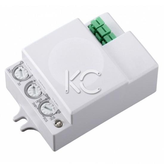 Микроволновый датчик движения 1200Вт 360гр. до 8м IP20 МВ-706-КС