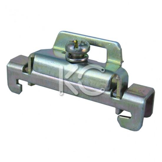 Ограничитель на DIN-рейку (металл) КС
