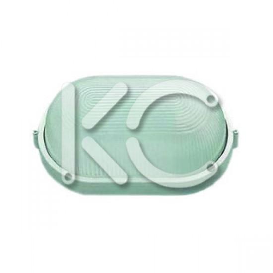 Светильник НПО 1401 -100 (бел/овал 100Вт) КС