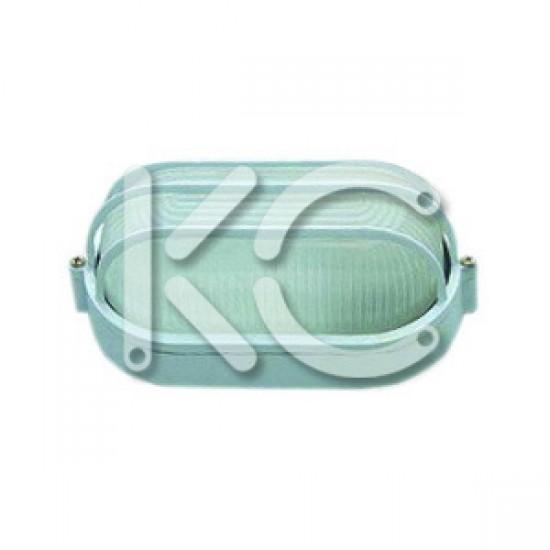 Светильник НПО 1406 -100 (бел/овал 100Вт) КС