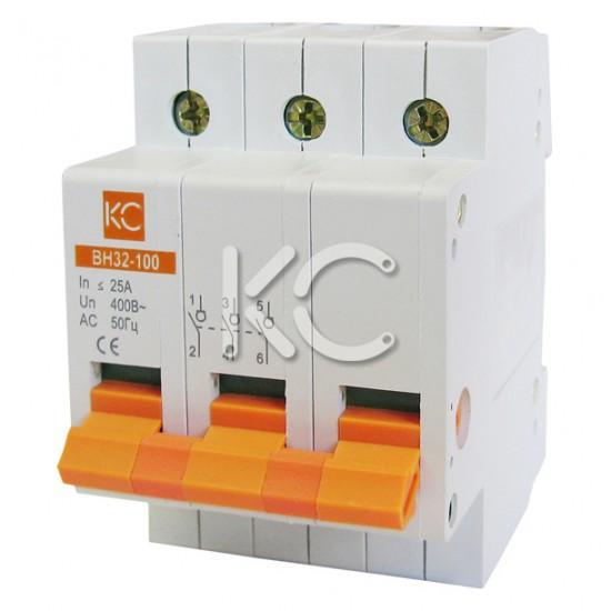 Выключатель нагрузки ВН32-100  ( 32А 3Р) КС