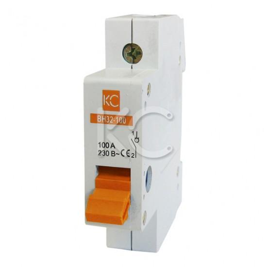 Выключатель нагрузки ВН32-100  (63А 1Р) КС